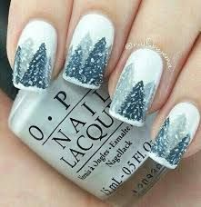 Image Result For Forest Nail Art Nail Design Pinterest Winter