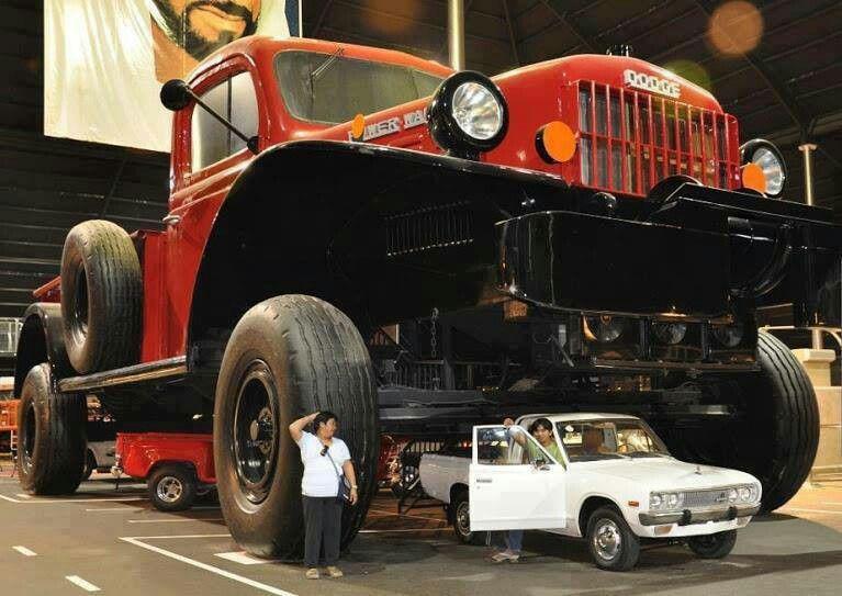 The Biggest Truck In The World Dodge Power Wagon Big Trucks