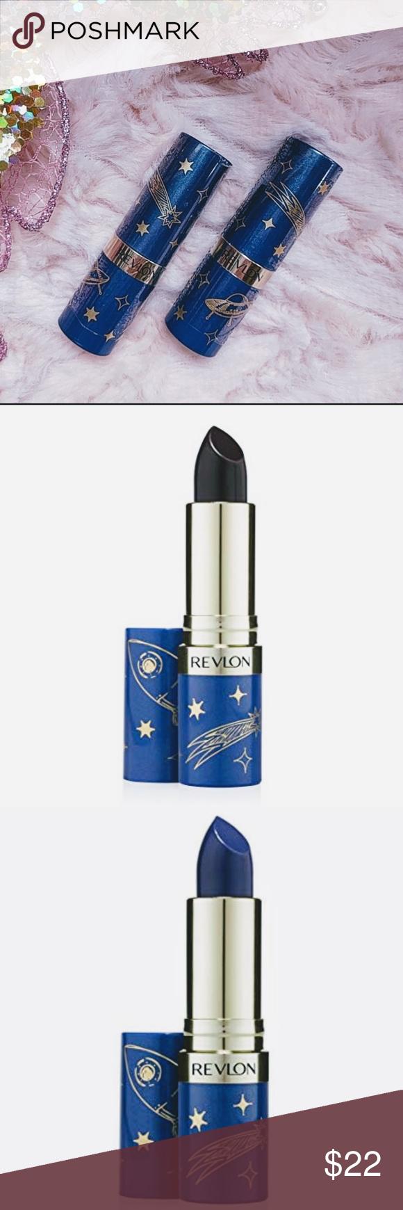 Revlon Super Lustrous Lipstick Dark Queen/Blue Sky Limited Edition