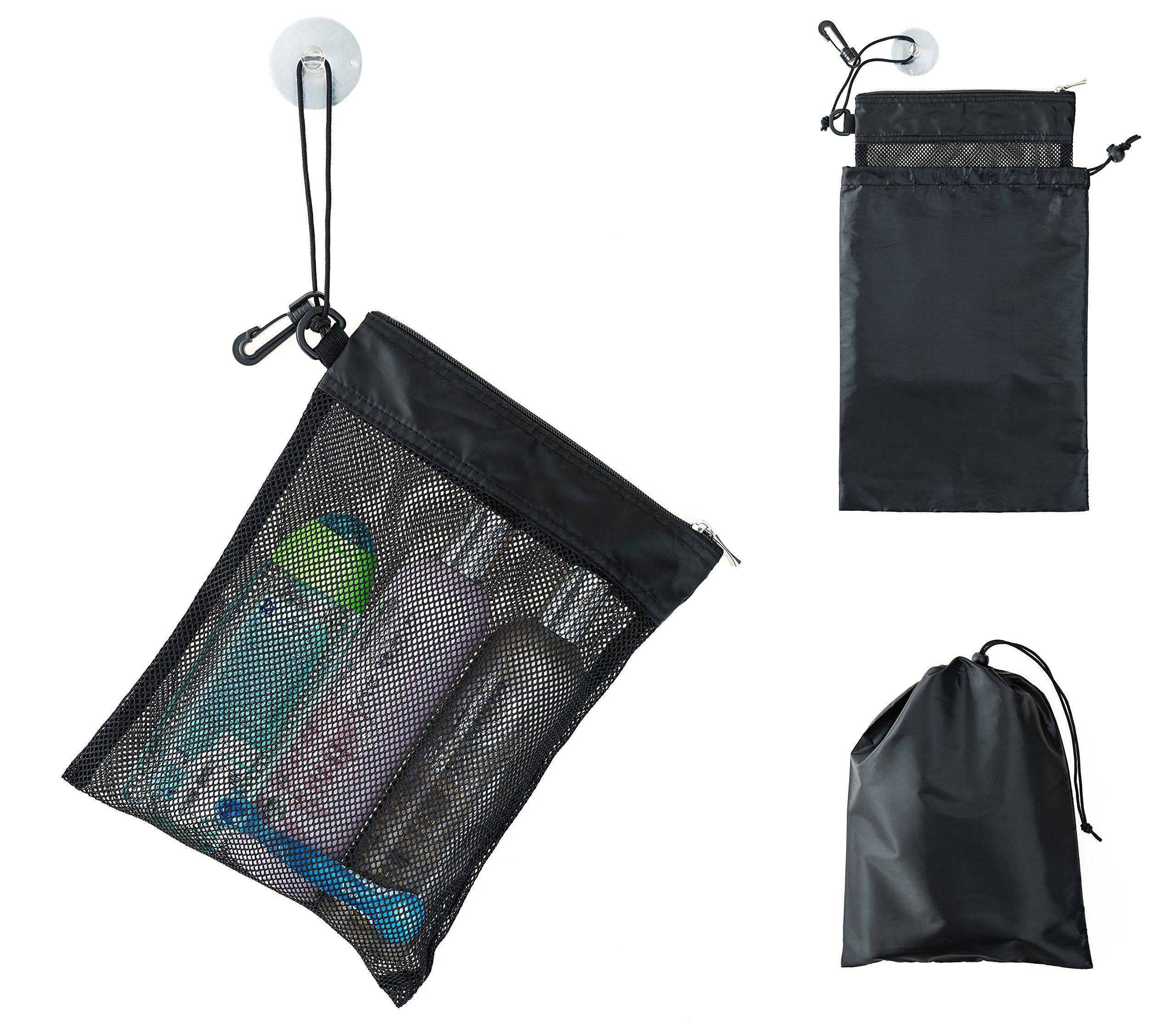 Shower Bag Tote, Mesh Caddy Toiletry Organizer 12\