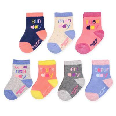 Days Of The Week Socks Oshkosh B Gosh Size 12 24m 7 Pack Days Of The Week Socks Multi