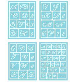 Martha stewart crafts glass adhesive stencils fancy alphabet martha stewart crafts glass adhesive stencils fancy alphabet spiritdancerdesigns Images