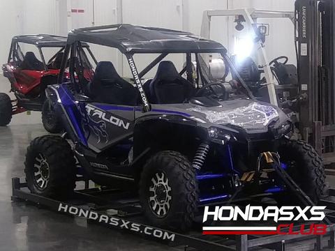 2019 Honda Talon 1000 Side By Side Honda Atv News Honda Pioneer 1000