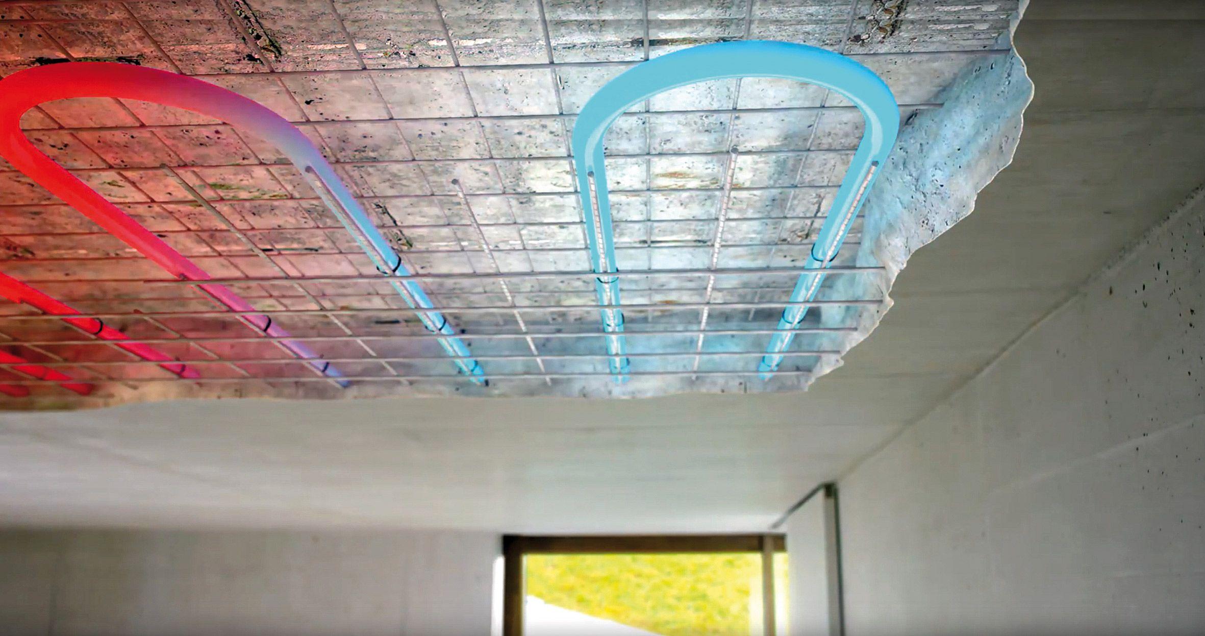 Thermische Bauteilaktivierung mit Beton (mit Bildern