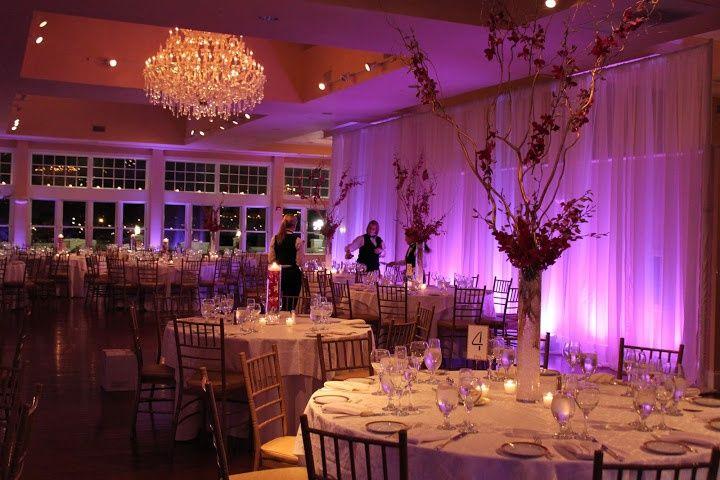Cruiseport Gloucester Weddings Cruiseport Cruiseportgloucester Wedding Centerpiece Ballroom Gloucester Wedding New Years Eve Weddings Uplighting Wedding