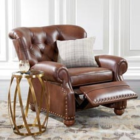 Ethan Allen S Recliners Collection Featuring A Wide Selection Of Incliners Fabric And Leather Recliner Chairs