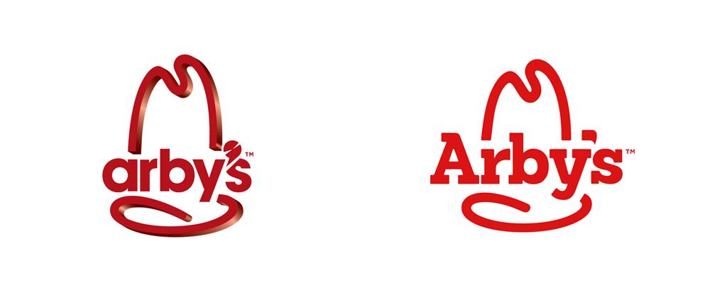 Brand New New Logo For Arby S Bad Logos Logos Logo Design