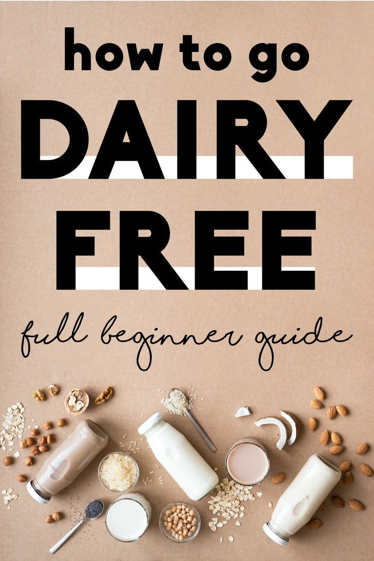 Going Dairy Free: Full Guide + Free Meal Plan
