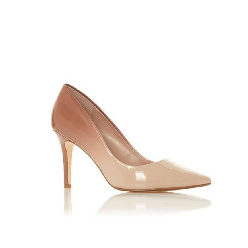 adcedbfc775 AMMBRE - Ombre Patent Court Shoe in 2019   Shoes   Court shoes ...