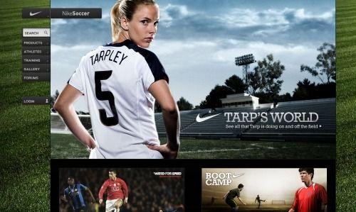Showcase Of Beautiful Sports Websites Sport Inspiration Sports Website
