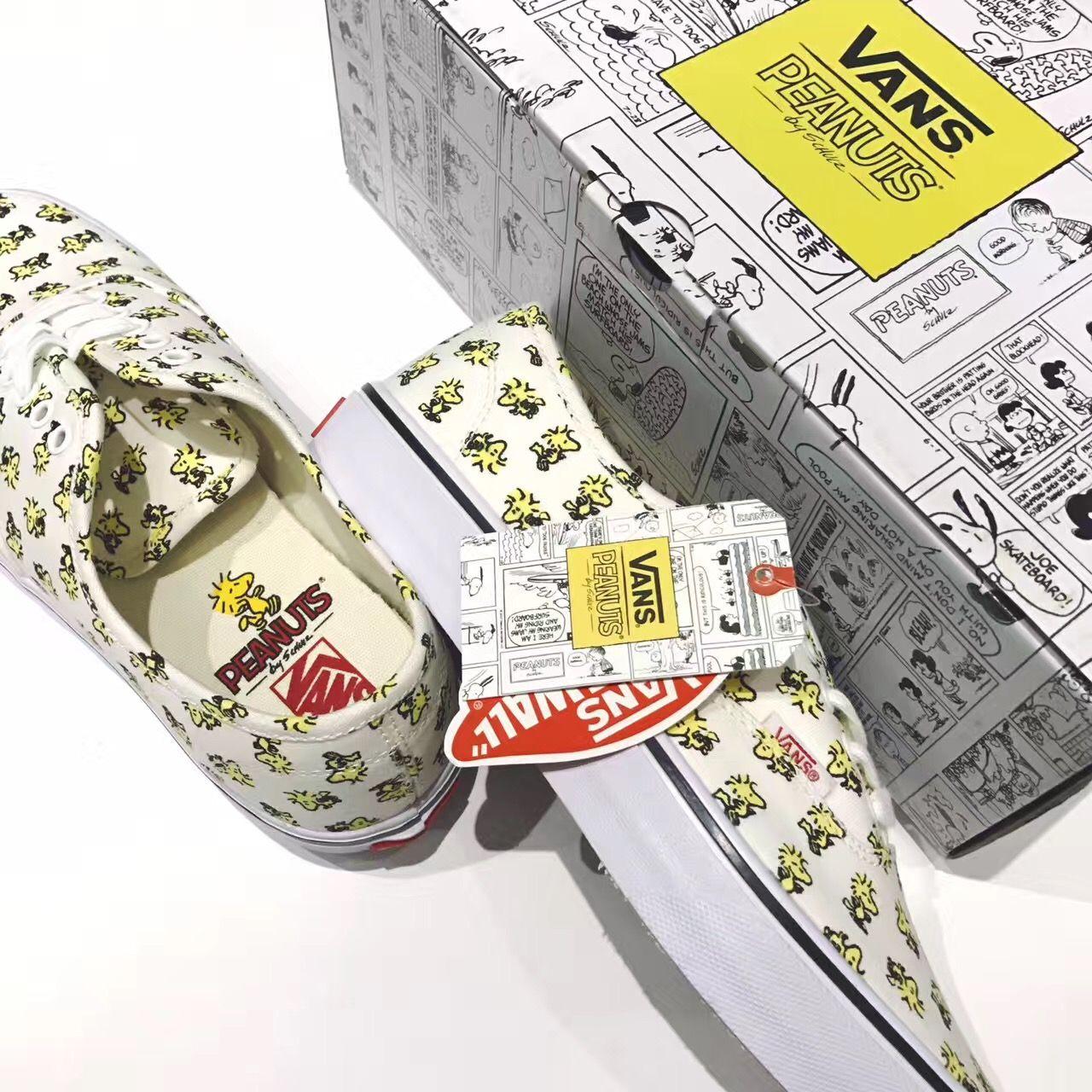 391dd74e404814 VANS X PEANUTS Vans Era Skate White VN0A38EMOQZ Skate Shoe  Vans ...