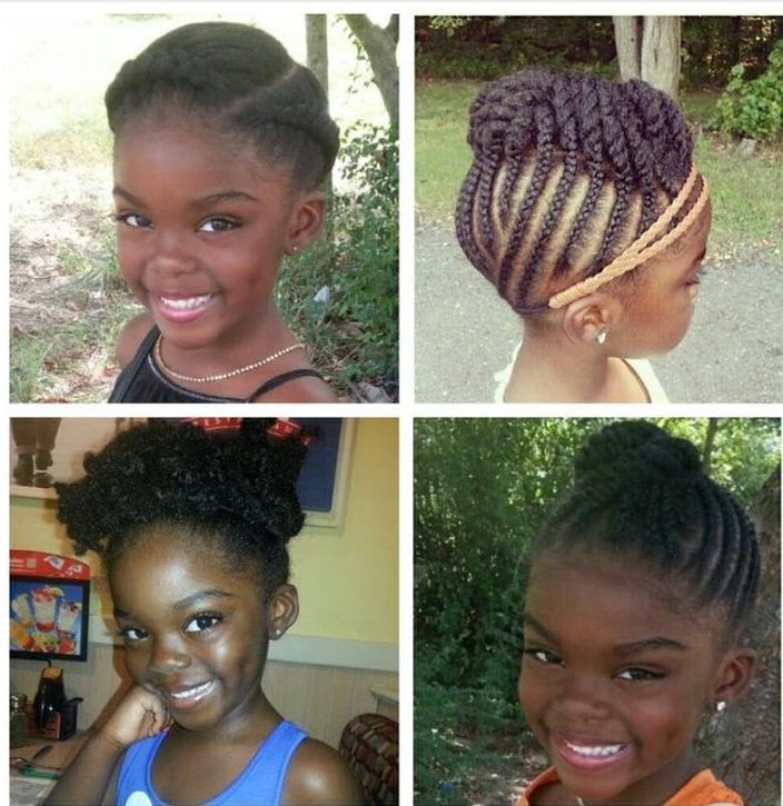 Simple Braid Styles For Natural Hair