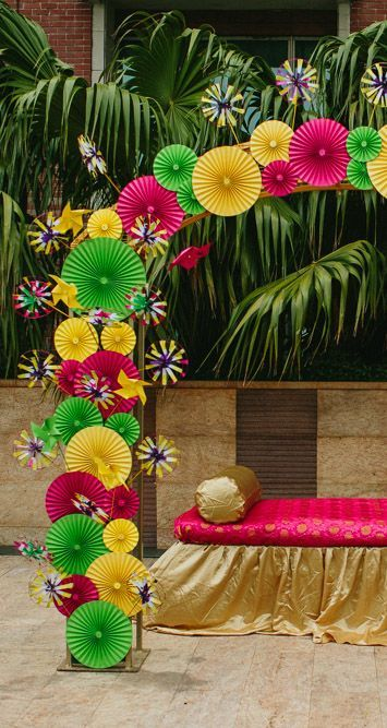 Mela Themed Decor We Arranged For A Wedding At The ITC Gardenia In Bangalore ITCGardenia WeddingPlanner IndianWeddings