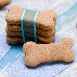 A healthy, all-natural, homemade treat for your puppy. Because the furriest member of the family should eat well too!