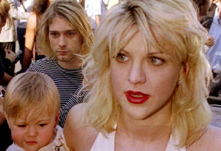 Kurt Cobain war mit Courtney Love verheiratet. Die beiden hatten eine gemeinsame Tochter, Frances Bean.  (Bild: Reuters)