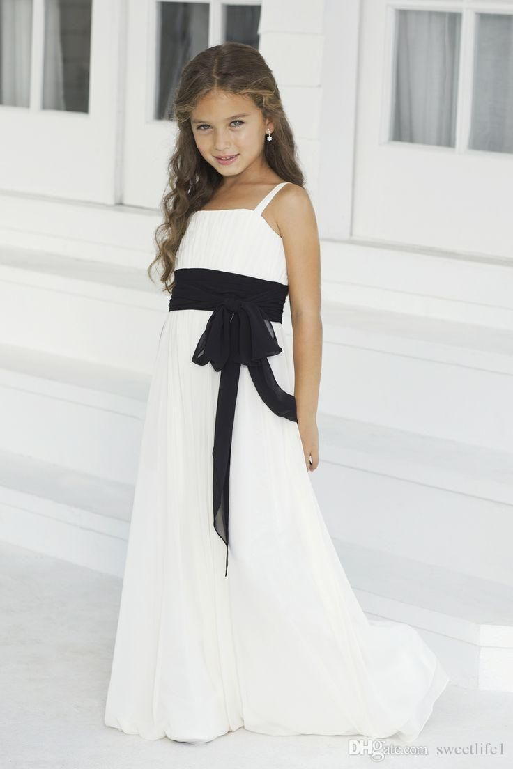 Cheap 2016 black junior bridesmaid dresses one shoulder two pieces 2016 black junior bridesmaid dresses one shoulder two pieces flower girl dresses long sleeves beaded lace ombrellifo Image collections
