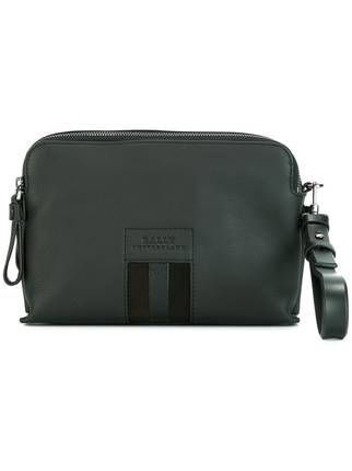 Bally zipped clutch bag