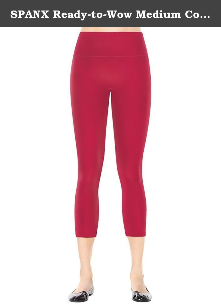 90e64f50176 SPANX Ready-to-Wow Medium Control Capri Leggings
