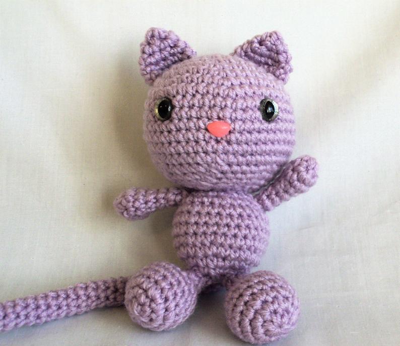 SALE Yellow Cat In Blue Hat - Hand-Knitted Cat Toy Amigurumi Cat Miniature Cat  Doll Wool Toy Cat Handmade Crochet Cats Plush Toys Amigurumi #2608060 -  Weddbook | 687x794