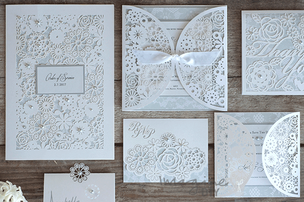 How to make beautiful diy rita laser cut wedding stationery diy wedding stationery and invitations supplying brides to be craft addicts and wholesalers be inspired to get creative with our fantastic range junglespirit Gallery