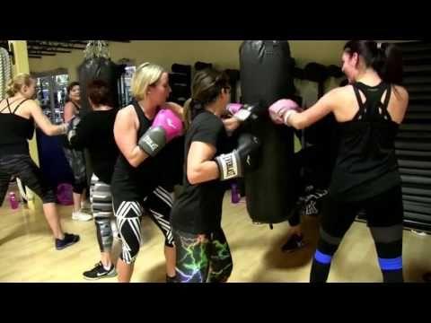 Cathe Friedrich's Kick Punch Cardio Live Workout - YouTube