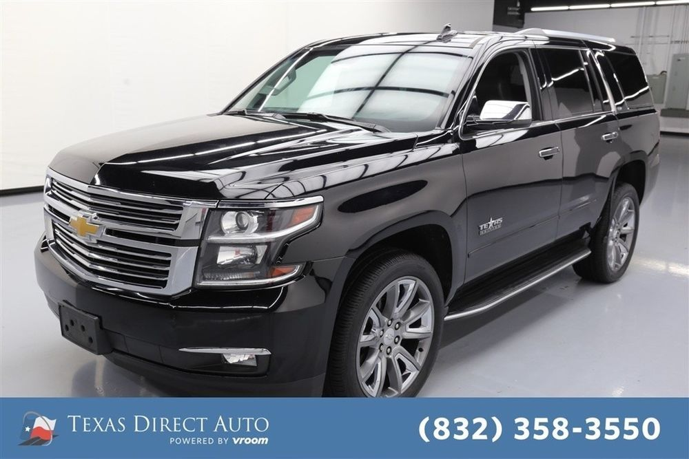 For Sale 2015 Chevrolet Tahoe Ltz Texas Direct Auto 2015 Ltz Used 5 3l V8 16v Automatic Rwd Suv Moonroof Bose Chevrolet Tahoe Chevrolet Suburban Chevrolet