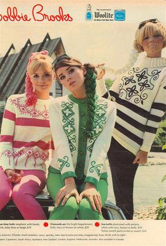 Bobbie Brooks 1967 60's spin on folkloric