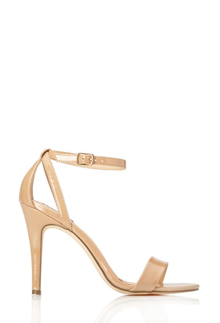 7f7308fb804 Sleek Patent Sandals