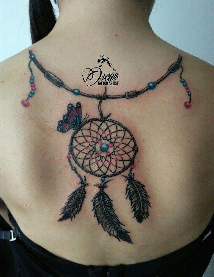 Dream Catcher Tattoo. Atrapasueños
