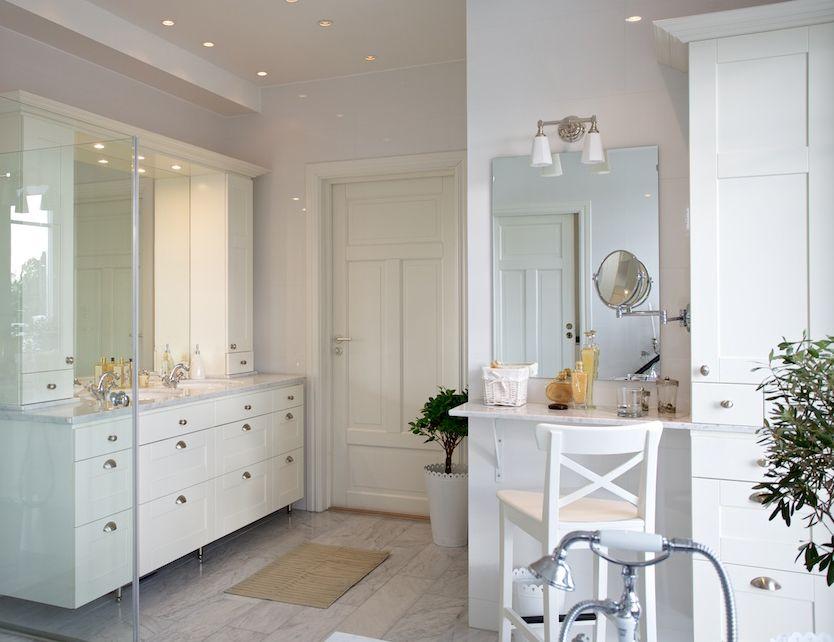 Ett lantligt badrum står högt upp på mångas renoveringslista. Och ...