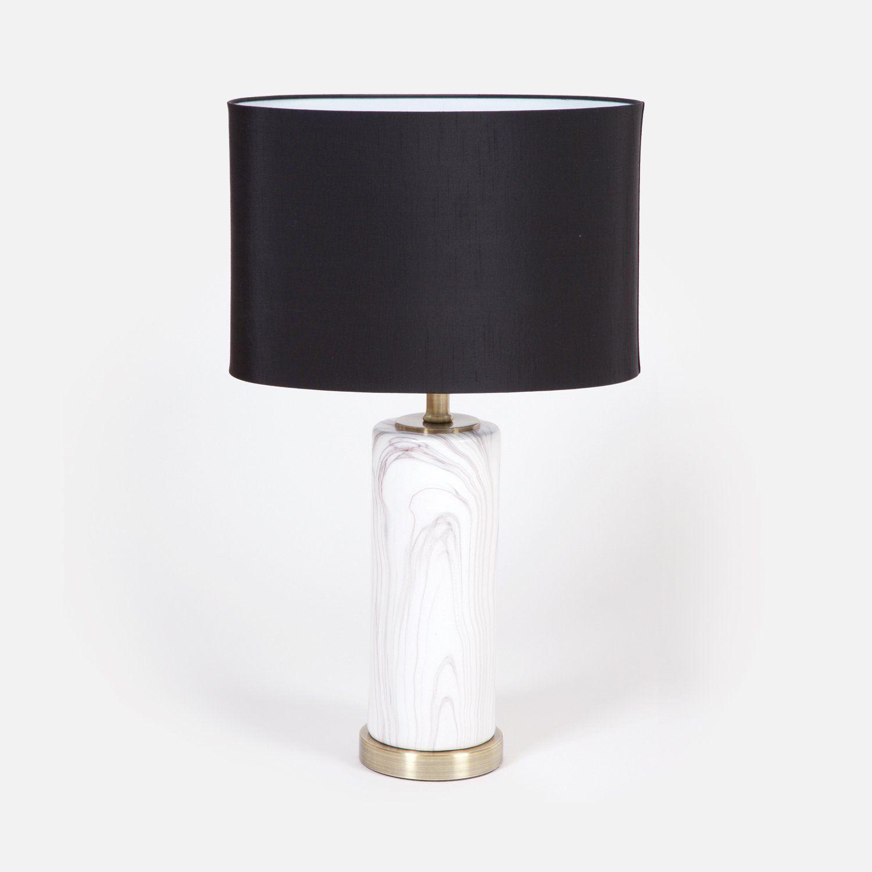 Herringbone Table Lamp 64 cms