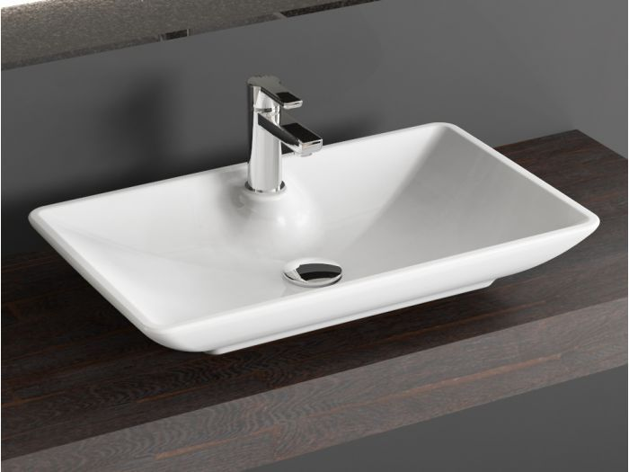 Aqua Bagno Design Keramik Aufsatz Waschschale Waschtisch