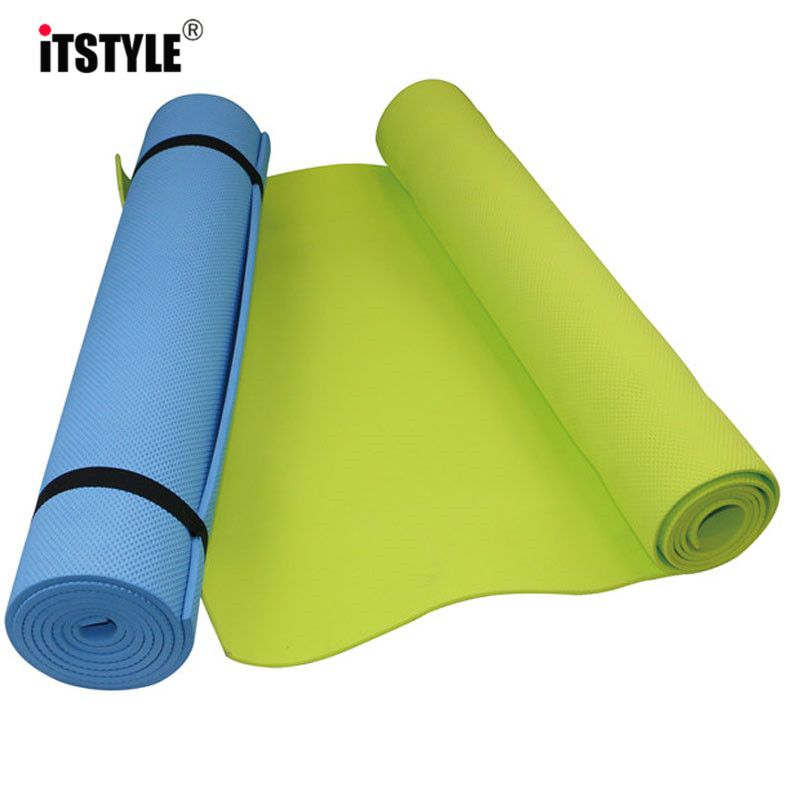 6mm Epais Le Confort Eva Mousse Tapis De Yoga Pour L Exercice Yoga Et Pilates Yoga Matten Gymnastiek Yoga