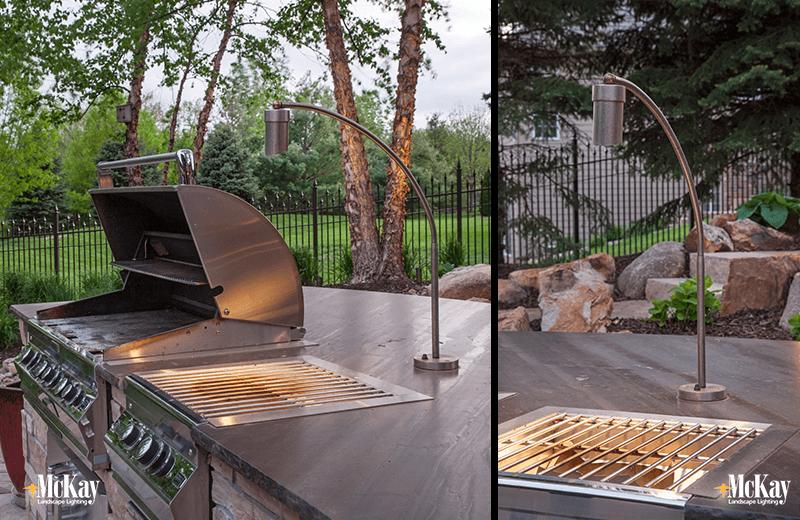 Outdoor Kitchen Grill Lighting Ideas Outdoor Living Space Backyards Outdoor Kitchen Grill Outdoor Living