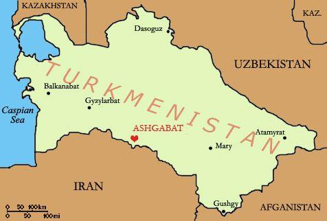 Ashgabat Turkmenistan Map Asia Pinterest Asia