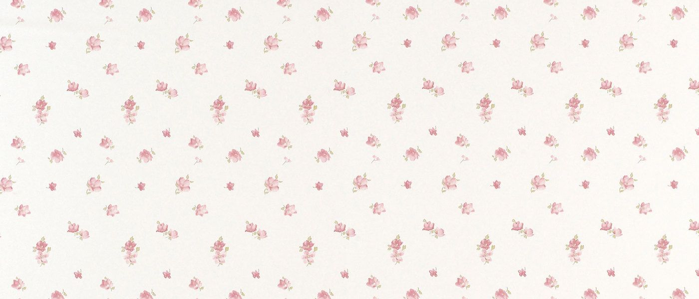 Abbeville Floral Wallpaper Pink Natural At Laura Ashley Floral