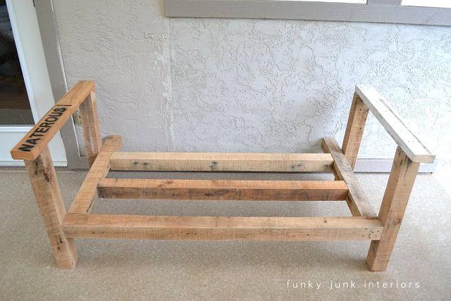 How I Built The Pallet Wood Sofa Part 2