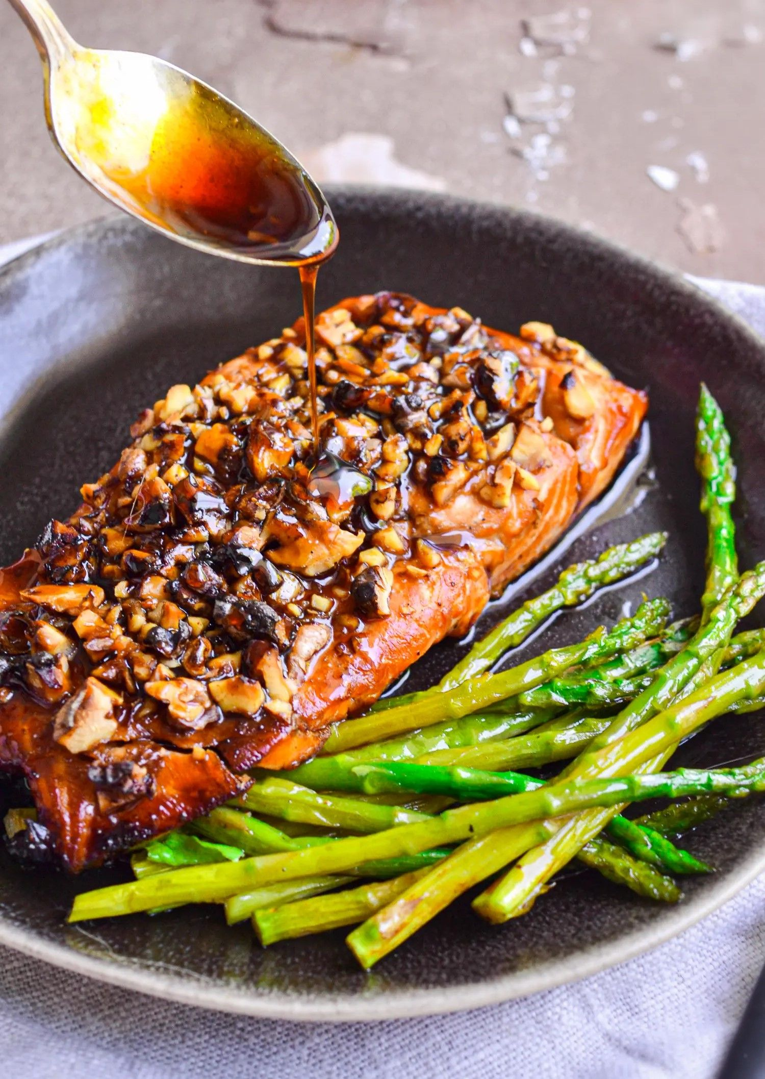 BROWN SUGAR SALMON RECIPE #salmonrecipes