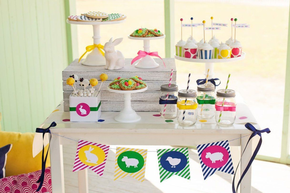 Easter Dessert Table For Kids The TomKat Studio HGTV