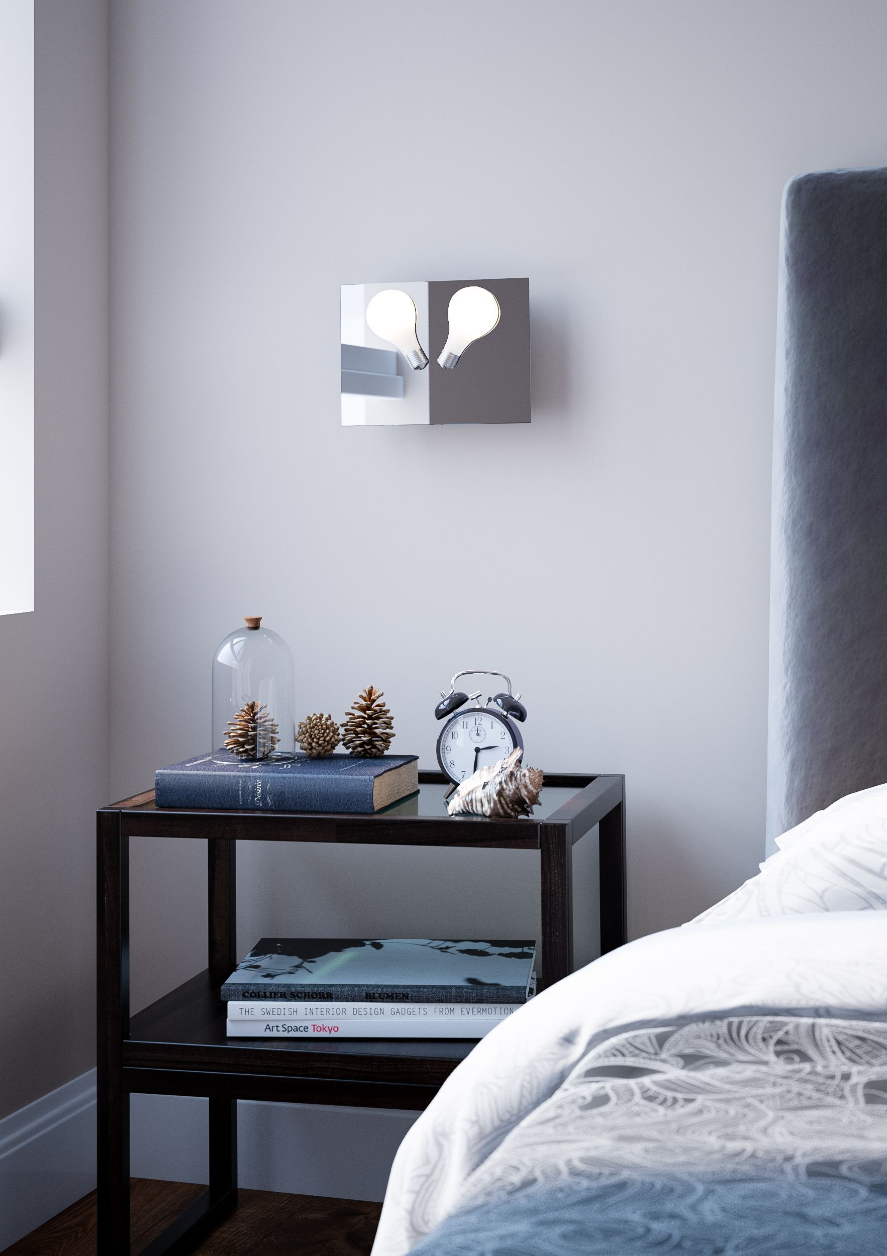 Perito Moreno Heart Short As A Bedside Lamp Unique Lighting,