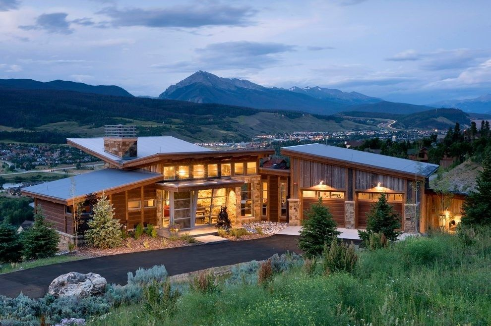 Pin By Timothy Mcfarland On After Student Loans Mountain Home Exterior Rustic Houses Exterior House Exterior