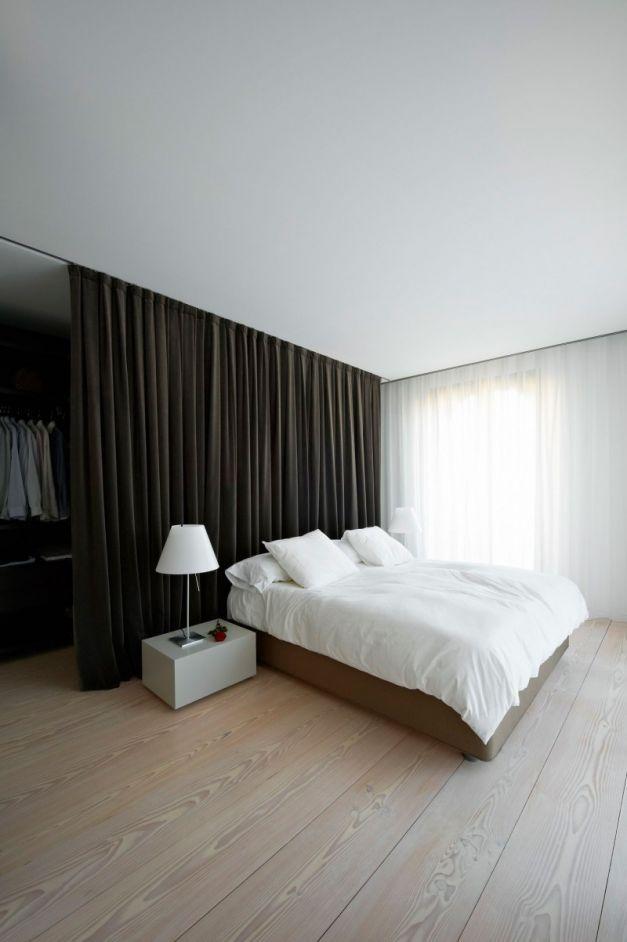 begehbarer kleiderschrank hinter bett 5   Schlafzimmer ...
