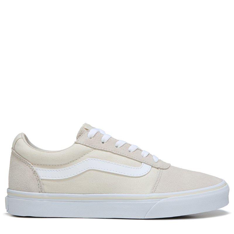 c2cf229dd6d8 Vans Women s Ward Low Top Skate Shoes (Birch White)