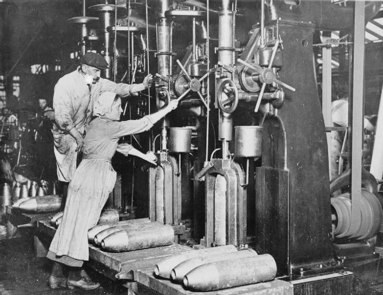 Women Working In The Munitions Industry During The First