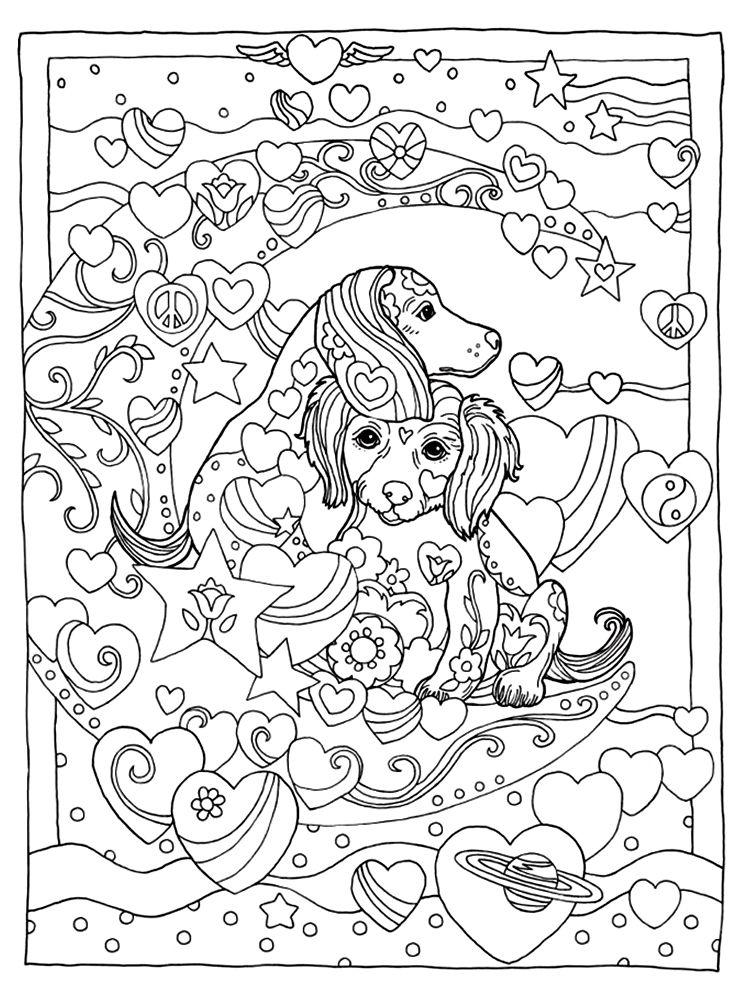 Marjorie Sarnat Pampered Pets Dog Coloring Book Dog Coloring Page Animal Coloring Pages