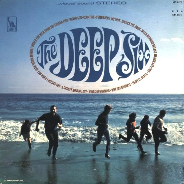 The Deep Six 1966 Liberty Their Only Lp Lp Cover Feelin Groovy Album Covers