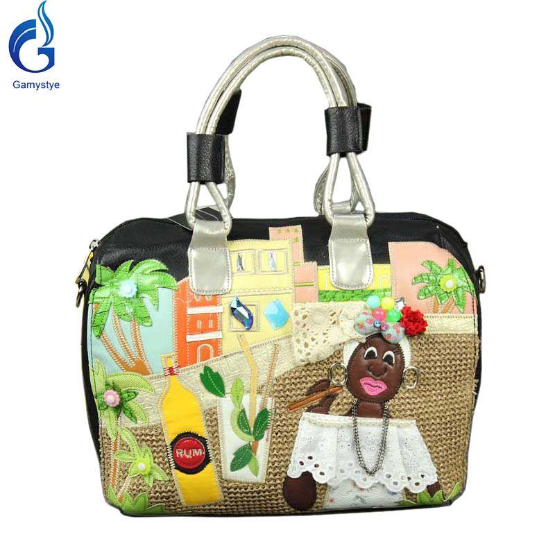 Italy Braccialini Africa And Brazil S Messenger Bag