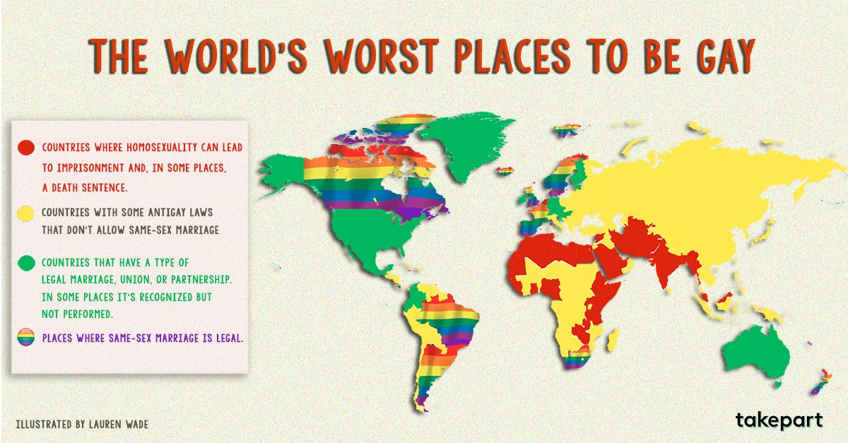 The worlds worst places to be gay if youre going to go and love the worlds worst places to be gay if youre going to go and love someone the same gender as you just be sure not to do it in the red countries gumiabroncs Choice Image