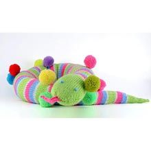 Parker the Party Snake (free knitting pattern) *