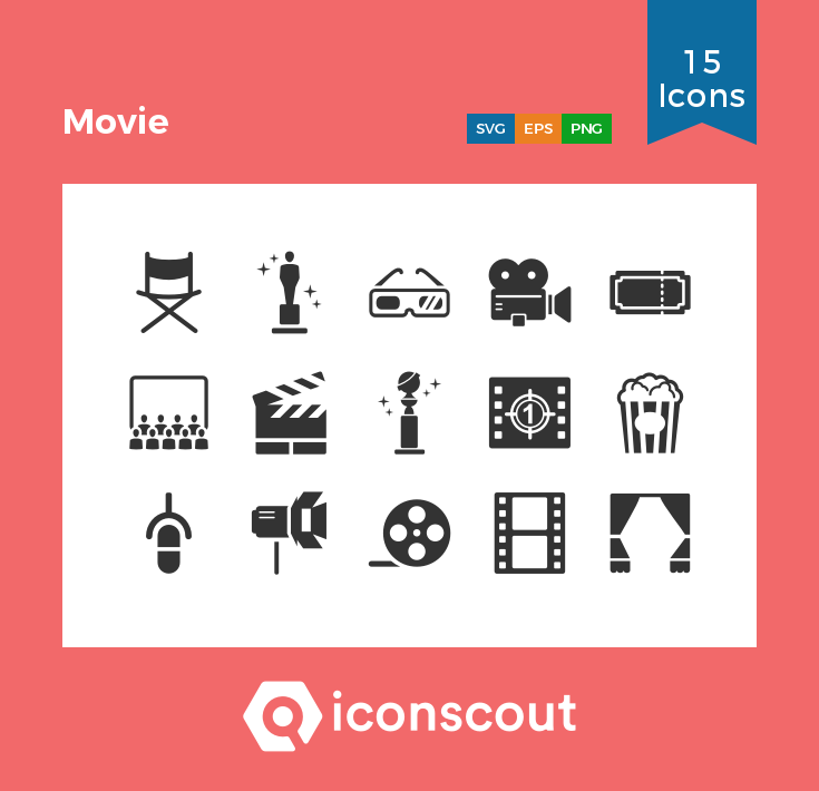 Download Download Movie Icon pack - Available in SVG, PNG, EPS, AI ...
